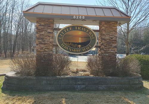 Little Traverse Township Hall Emmet County Michigan